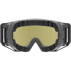 UVEX Athletic Colorvision Goggles, negro/azul